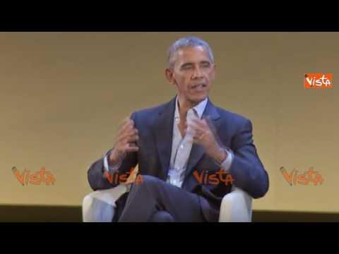 """Obama: """"Io e Renzi costruiremo una rete di attivisti globali"""""""