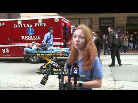 Dallas holds mass casualty drill at Majestic Theatre