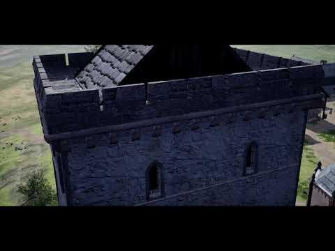 Avaldsnes Royal Manor, around 1300 AD.