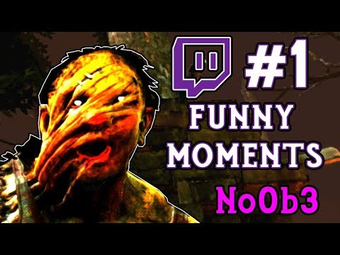 No0b3 TWITCH FUNNY MOMENTS #1 - Dead By Daylight