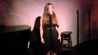 Sarah Fernandez singing