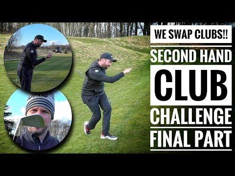 WE SWAP CLUBS! Golfbidder Second Hand Club Challenge - Rick vs Pete - Final Part