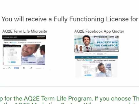 Sign Up for the AQ2E Quote Engine - Step 1