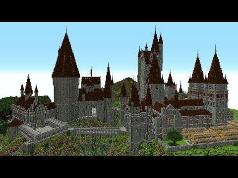 Harry Potter Hogwarts Map In Minecraft!