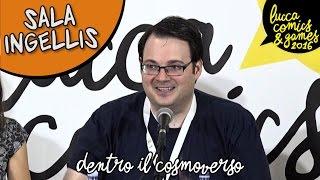 [Lucca Comics & Games] Sala Ingellis : Dentro il Cosmoverso - Brandon Sanderson