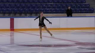 X зимняя Спартакиада учащихся юношеская Юниоpки Короткая программа 21 Алина ГОРБАЧЁВА ТВЕ