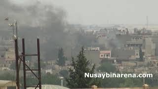 Kamışlıda YPG noktasına bombalı saldırı 2 yaralı