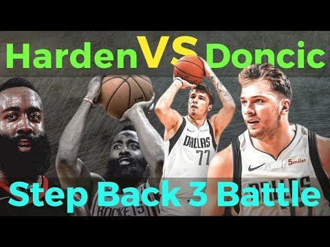 James Harden VS Luka Doncic SHOWDOWN ng Step Back Three: SINO ang Mas Malupit?