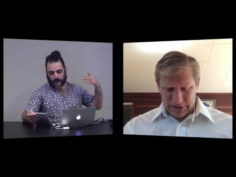 Agah Bahari speaks with Zoltan Istvan @ Toronto Transhumanism Meetup