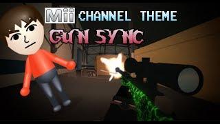 MII CHANNEL THEME GUN SYNC! | Phantom Forces | Roblox