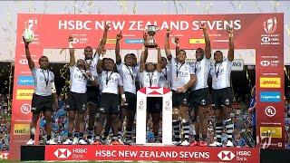Highlights: Fiji win New Zealand Sevens