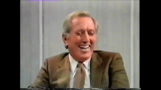 ANDY WILLIAMS on the Michael Parkinson Show Oct.  1981