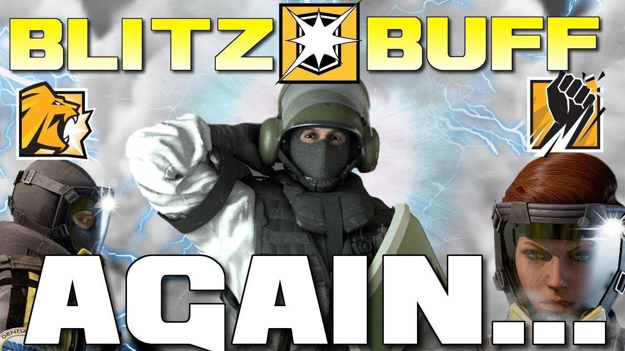BLITZ SPEED BUFF again?!  - Exclusive Operation Chimera Gameplay - Rainbow Six Siege