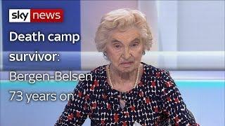 Renee Salt shares her experience of Bergen-Belsen