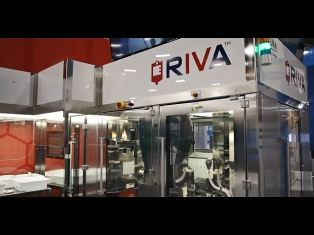 What about the RIVA™ design makes it the industry standard for safety in sterile compounding