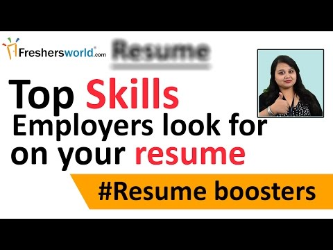 Top skills that an employer look for on your resume – Skills to be mentioned in CV, #Interview tips