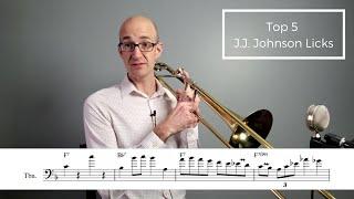 Top 5 J.J. Johnson Licks