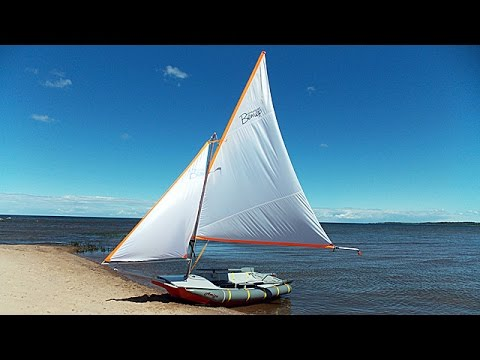 видео: dinghy sailing holidays: modernized amiga dinghy alive! / Модернизированный швертбот