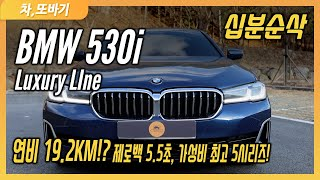 BMW 530i Luxury Line LCI 10분 순…