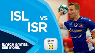HIGHLIGHTS | Iceland vs Israel | Round 6 | Men's EHF EURO 2022 Qualifiers