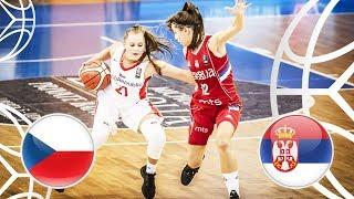 Czech Republic v Serbia - Full Game - FIBA U18 Women