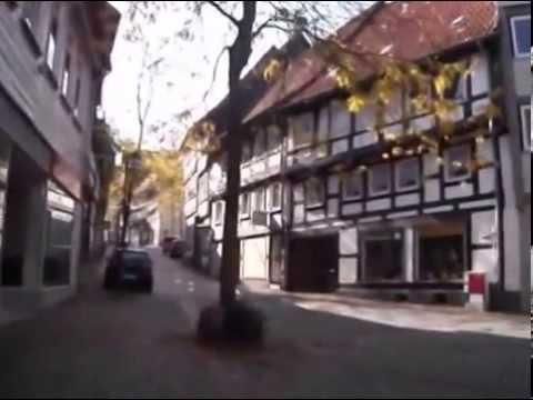 Spaziergang  in der Stadt Osterode am Harz am 3.10.2014