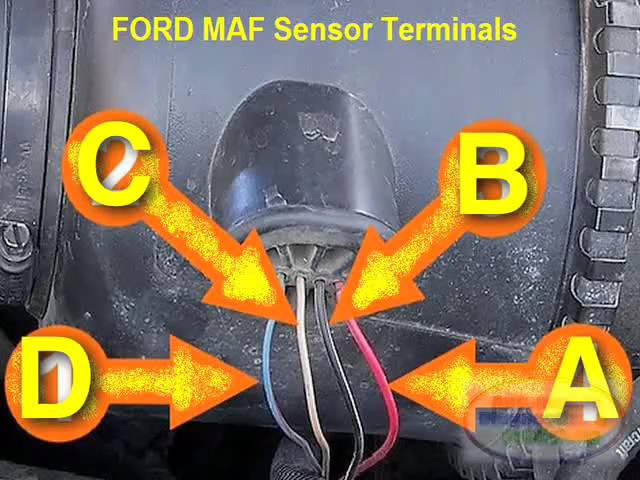 Ford Maf Sensor Testing 12v Power Youtube
