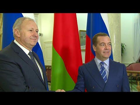 В Сочи встречаются премьер-министры России и Белоруссии.