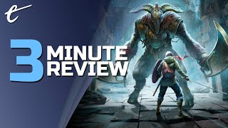 Chronos: Before the Ashes | Review in 3 Minutes (Video Game Video Review)