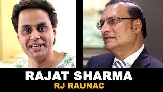 RJ Raunac Candid Conversation with Rajat Sharma
