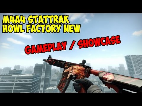 M4A4 (StatTrak™) | Howl Factory New Gameplay/Showcase