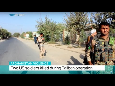 Afghanistan Violence: Two US soldiers killed during Taliban operation