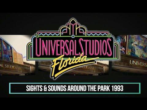 Sights & Sounds Around The Park 1993 Retro Universal Studios Florida (NEW HD Edit)