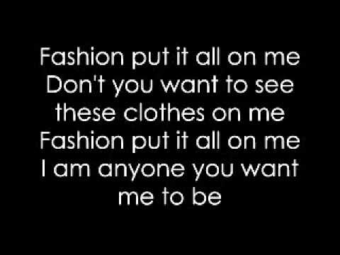 Lady Gaga- Fashion Lyrics