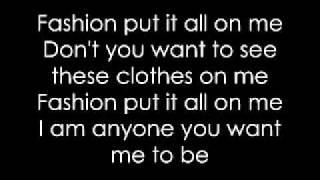 Lady Gaga- Fashion Lyrics