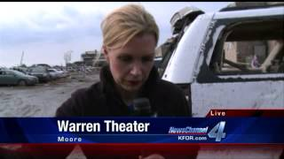 Moore Tornado Claims Family Taking Shelter in Freezer