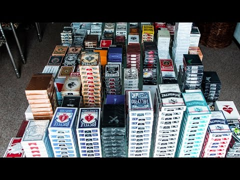 MY EPIC PLAYING CARD COLLECTION!! 2017 (Over 2000 Decks!)