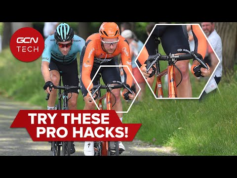 Pro Cyclist Shares Insider Hacks | GCN's Professional Cycling Tech Tips