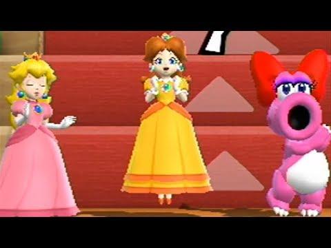 Mario Party 9◆Step It Up #190 (3 vs 1) Peach Daisy Birdo vs Wario