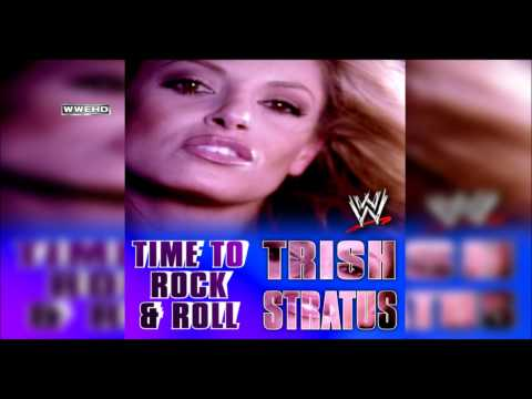 """WWE: """"Time To Rock & Roll"""" (Trish Stratus) Theme Song + AE (Arena Effect)"""