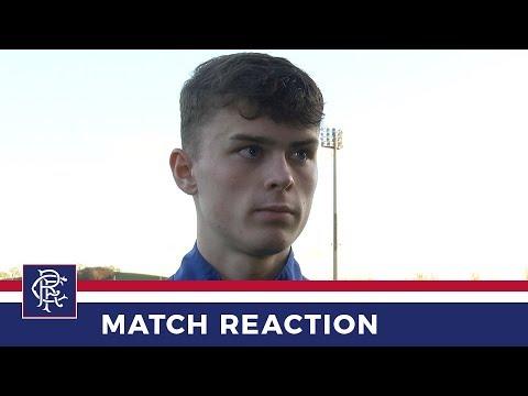 RESERVES REACTION   Josh McPake   Rangers 5-0 Kilmarnock