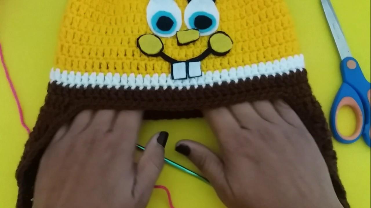 7e7faeaed86ff Como colocar tapa orelhas em suas touquinhas de croche - YouTube