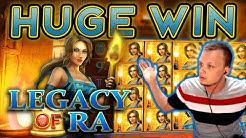 HUUUGE WIN TOP SYMBOL on Legacy of Ra Megaways!!!