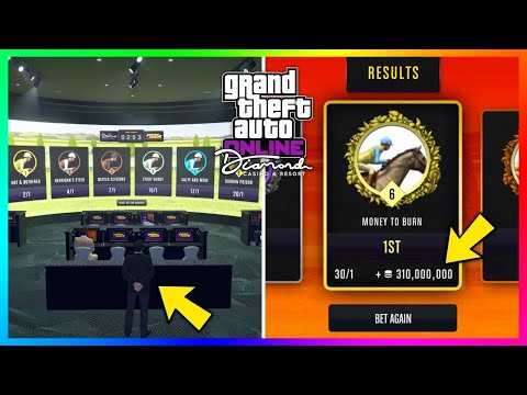 $2,500,000 || GTA 5 - HOW TO WIN EVERY TIME WHEN BETTING ON HORSE RACES!! 100%
