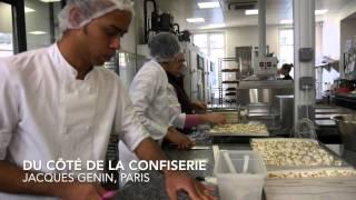 Le praliné et la confiserie de Jacques Genin, Paris