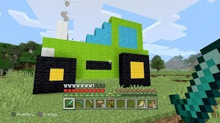 Minecraft Adventure - Let's Make A Tractor 🚜