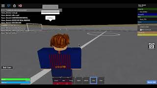 Narrating the first time of Barcelona vs Real Madrid (Roblox)