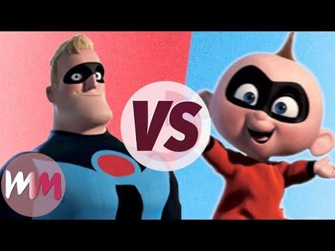The Incredibles vs. Incredibles 2