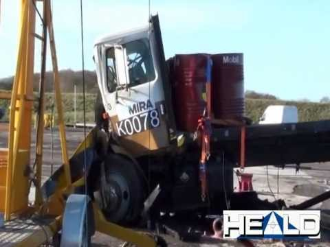 Heald Shallow Mount Road Blocker HT1-Viper ASTM Crash Test