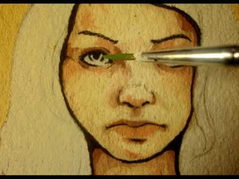 Como pintar rostro de mujer youtube - Como pintar un radiador ...